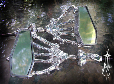 Coffin Motorcycle Mirrors