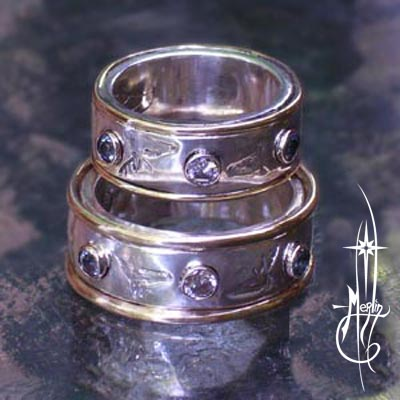 Stag and Doe Wedding Rings