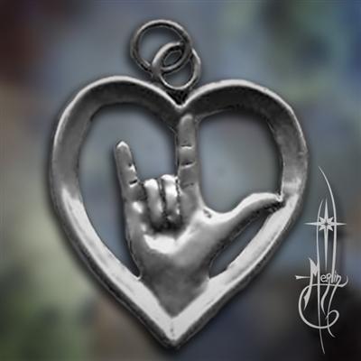 I Love You Amulet