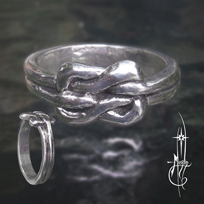 Traditional Lovers Knot Ring